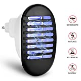 LEDOWP Bug Zapper, [2018 UPGRADED VISON] Mosquito Killer Trap 2 in 1 Indoor Insect Killer Night Lamp with Storge Box for Home Garden Patio Office Store