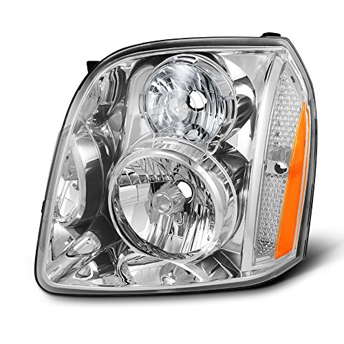 For 2007-2014 GMC Yukon | 2007-2014 Yukon XL 1500 2500 | Denali | Hybrid Driver Left Side Headlight Lamp