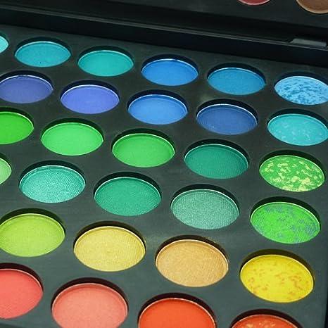 Juegos De Maquillaje Profesional Para Ojos - Pequeña Maleta De Sombras De Maquillaje - Paleta De 120 Colores - Cosmeticos De Belleza