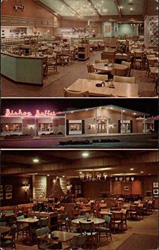 The Bishop Buffet, Duck Creek Plaza Bettendorf, Iowa Original Vintage - Buffet Creek