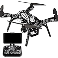 MightySkins Protective Vinyl Skin Decal for 3DR Solo Drone Quadcopter wrap cover sticker skins Drops