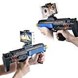 AR Toy Game Gun Controller, Augmented Reality Bluetooth AR Toy Gun Gamepad for IPhone Andriod Phone, Eco-friendly Safe & Novelty Toys for Adults Kids Boys Girls Teens by Beiens