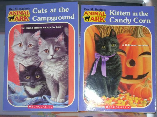 Animal Ark Books Cats At Campground, Kitten In The Candy Corn