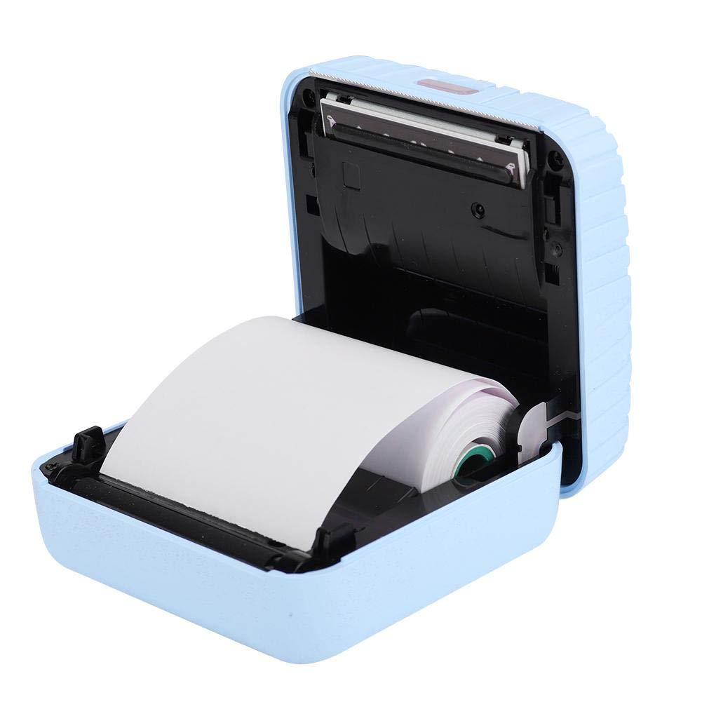 Mini Rotura Manual Impresora t/érmica port/átil Impresora fotogr/áfica para Windows//Android PC 58mm Impresi/ón Bluetooth port/átil Azul 203DPI Photo ABS ASHATA Impresora fotogr/áfica m/óvil