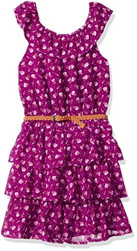 Ruffled Tier Dress - 5