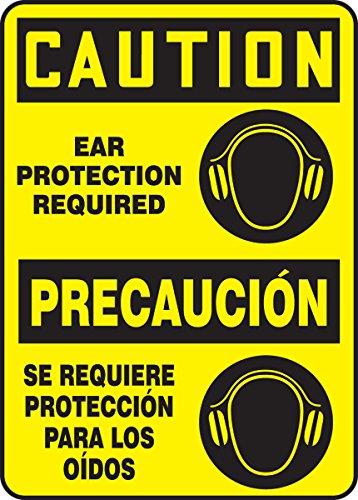 (Accuform SBMPPE435VA Aluminum Sign, Legend