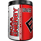 Evlution Nutrition BCAA Energy - High Performance, Energizing Amino Acid Supplement for Muscle Building, Recovery, and Endurance (30 Servings) Fruit Punch
