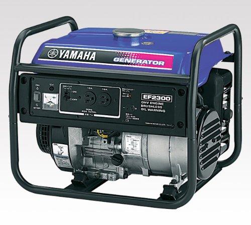 ヤマハ・ガソリンエンジン発電機AC100V23A(60Hz)・DC12V8.3A・EF2300(西日本地域専用)