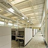 AntLux 72W LED Wraparound Light 4FT LED Office