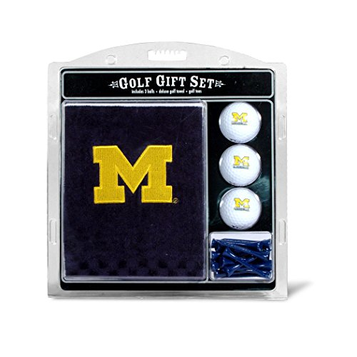 Michigan Wolverines Embroidered Towel - University of Michigan Embroidered Towel Gift Set