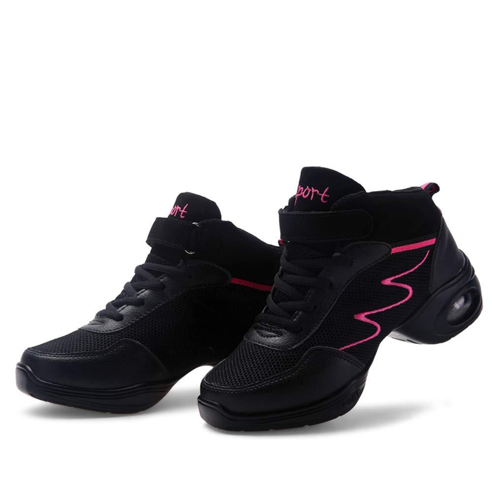 Yajie-schuhe Weave Vamp Moderne Ballsaal-Schuhe mit Anti-Kid-Sohle Damen Professionelle Latin Latin Latin Tango Tanzschuhe Atmungsaktiv (Farbe   Schwarz Größe   40 EU) 351da4