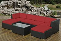 ohana collection Genuine Ohana Outdoor Patio Wicker Furniture 7-Piece All Weather Gorgeous Couch Set with Free Patio Cover by Amazon.com, LLC *** KEEP PORules ACTIVE ***