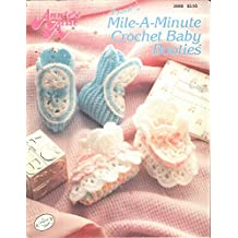 Annie's Mile-a-Minute Crochet Baby Booties