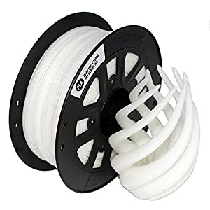 CCTREE 3D Printing Filament PLA 1.75mm For Creality CR-10 S5 Accuracy +/- 0.05mm 1kg Spool (2.2lbs), White by CCTREE