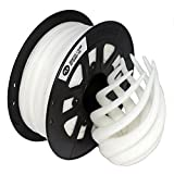 CCTREE 3D Printing Filament PLA 1.75mm For Creality CR-10 S5 Accuracy +/- 0.05mm 1kg Spool (2.2lbs), White