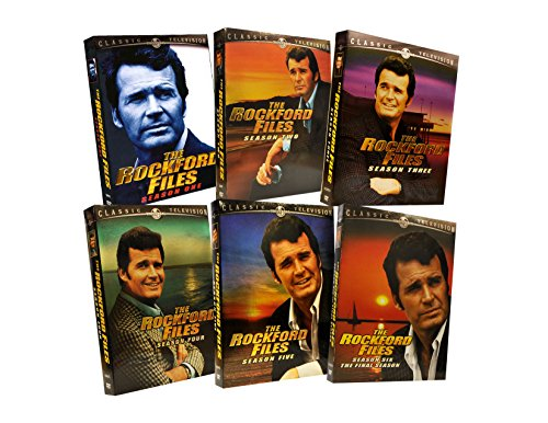 The Rockford Files Complete Seasons Pack (Season 1, 2, 3, 4, 5 and 6) by UNIVERSAL