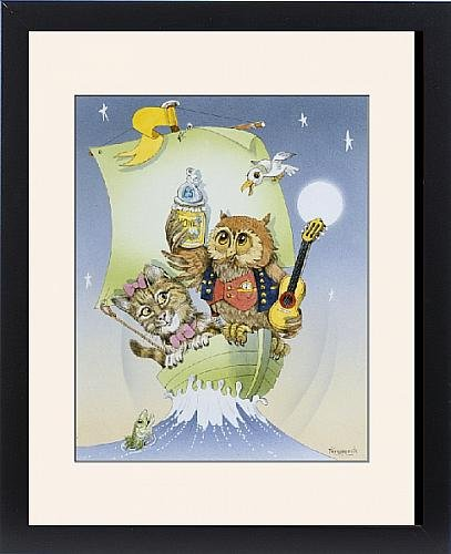 Framed Print of The Owl and The Pussycat