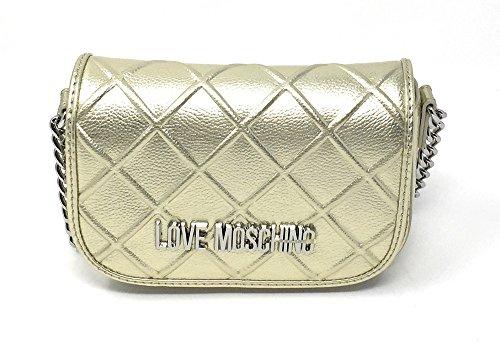 Borsa LOVE MOSCHINO JC4268PP05K ORO 16X7X13cm