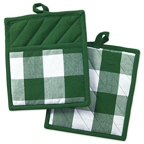 DII Shamrock Green Buffalo Potholder product image