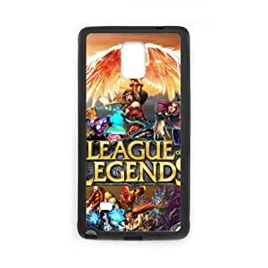 League Of Legends Samsung Galaxy Note 4 Cell Phone Case Black vtaa