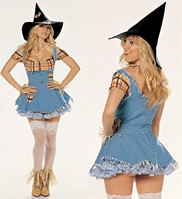 Smart and Sexy Scarecrow Costume
