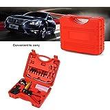 POWLAB 2 in 1 Hand Held Vacuum Pistol Pump Tester Set Gauge Brake Fluid Bleeder Oil Change Tool Kit W/Adaptor Reservoir for Vehicle Car Auto