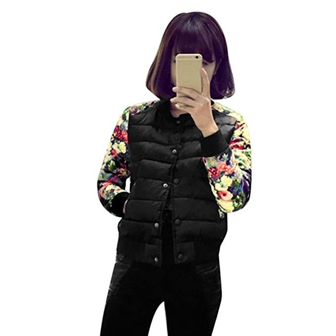 Tongshi Moda Casual invierno cálida Parka chaqueta mujer abrigos capa (M, Negro): Amazon.es: Ropa y accesorios