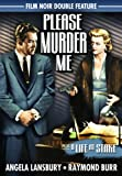 Please Murder Me (1956) / A Life At Stake (1954) (Film Noir Double Feature)