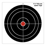 30 Pack - 8'' Round Splattering Targets - Splatter Shooting Targets - Gun - Rifle - Pistol - AirSoft - BB Gun - Pellet Gun - Air Rifle