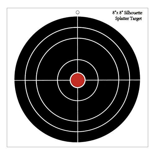 30 Pack - 8'' Round Splattering Targets - Splatter Shooting Targets - Gun - Rifle - Pistol - AirSoft - BB Gun - Pellet Gun - Air Rifle by wootile