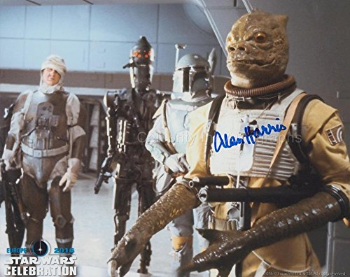 Alan Harris as Bossk – Star Wars: Episode V Autograhp