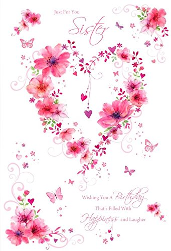 Tarjeta de cumpleaños para mujer (CO-ML410) - hermana ...