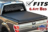 Ionic Premium SE Roll Up Tonneau Truck Bed Cover 2012-2018 Dodge Ram 6.4 Ft w/RamBox