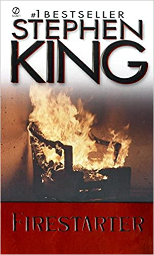 Stephen King Books List : Firestarter