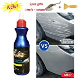 Moonase One Glide Scratch Remover, Car Artifact Light Scratch Repair Wax Universal Auto Car Paint Dent Care Pen Polishing Repair Agents for Various Cars