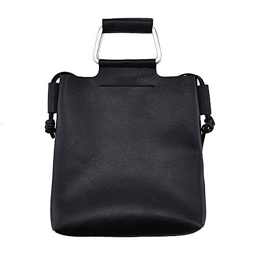 VRLEGEND Women Top Handle Bag Stylish Satchel Handbags PU Leather Shoulder Bag Tote Purse
