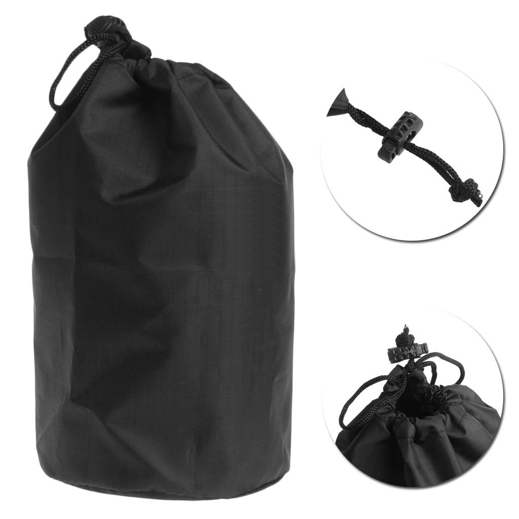 Feamos Mini Space Heater Storage Bag Heating Stove Protective Cover for Outdoor Camping Equipment Black