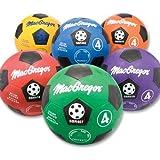MacGregor Soccer Balls, Prism Pack (6 Pack of Assorted Colors)