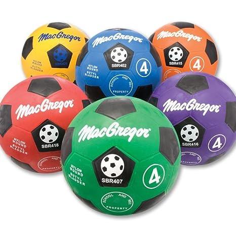 MacGregor 6-PC Botas de balón de fútbol Prisma Set: Amazon.es ...