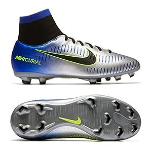 Nike Kids Mercurial Victory 6 DF Neymar Jr. FG Soccer Cleats- Racer Blue Size: 2.5Y