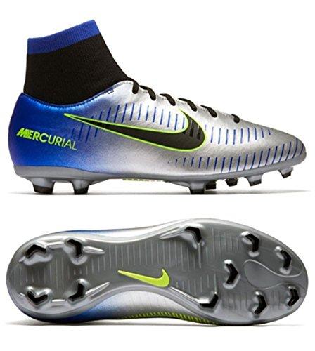 fan products of Nike Kids Mercurial Victory 6 DF Neymar Jr. FG Soccer Cleats- Racer Blue Size: 2.5Y