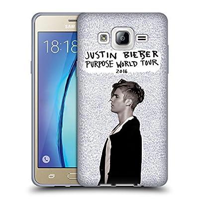 Official Justin Bieber Details Key Art Soft Gel Case for Samsung Galaxy On5