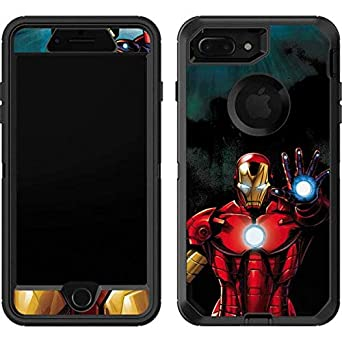premium selection a281c 90184 Skinit Ironman OtterBox Defender iPhone 7 Plus Skin for CASE - Officially  Licensed Marvel/Disney Skin for Popular Cases Decal - Ultra Thin, ...