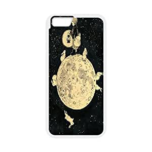 "Wholesale Cheap Phone Case For Apple Iphone 6,4.7"" screen Cases -Moon Art Pattern-LingYan Store Case 10"