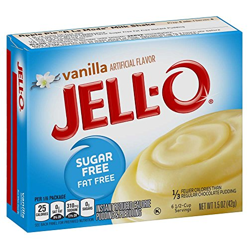 Jell Vanilla Instant Pudding Ounce