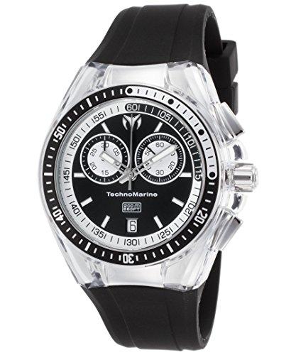 technomarine-tm-115335-womens-cruise-sport-chronograph-black-silicone-dial-watch