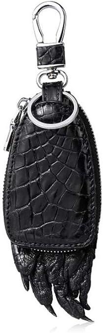 EEKUY Estuche de Cuero con Forma de Garra de cocodrilo, Estuche con Llave para Auto Que se Puede Colgar en la Cintura 5.63 × 1 × 2.3 ,Black: Amazon.es: Hogar