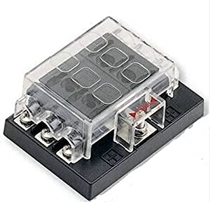 51upxLSGGjL._SX300_ amazon com 6 way blade fuse box block holder circuit for auto rv 6 way blade fuse box at suagrazia.org