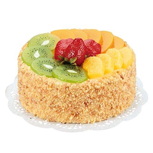[해외]과일 케이크 (홀) (폼 소재) / Fruit Cake (Hall) (form material)