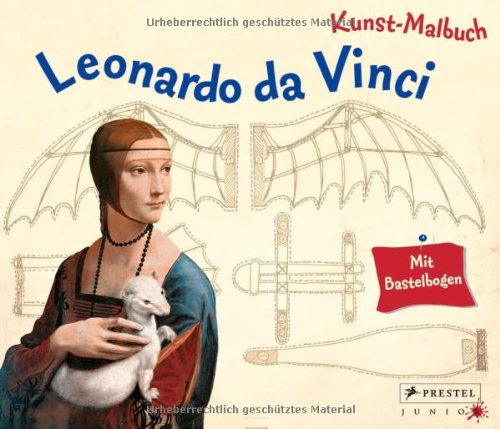 Kunst-Malbuch Leonardo da Vinci